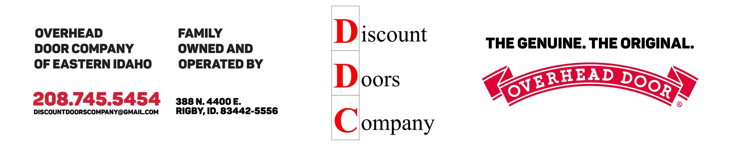Discount Doors Logo